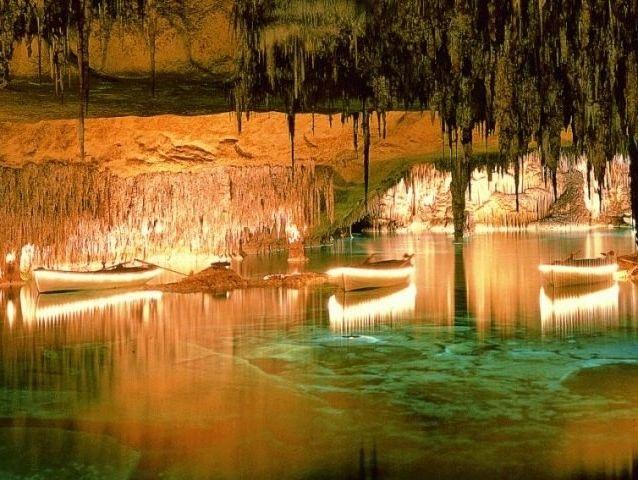 Cuevas del Drach, Пещера Дракона, Майорка