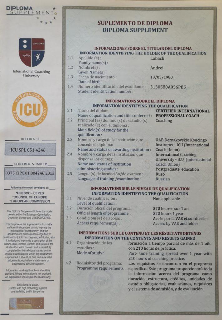 Коучинг: International Coaching University
